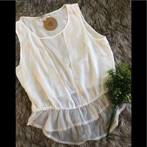 White Lace Shirt!